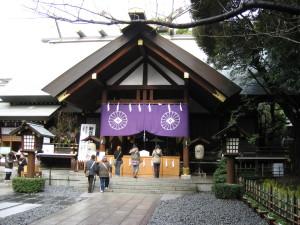 東京大神宮入口